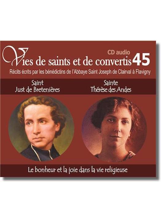 Saint Just de Bretenières et sainte Thérèse des Andes