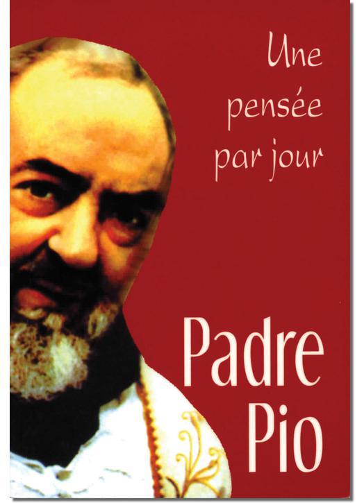 Libros católicos en francés Padre Pio - Une pensée par jour - Tienda religiosa
