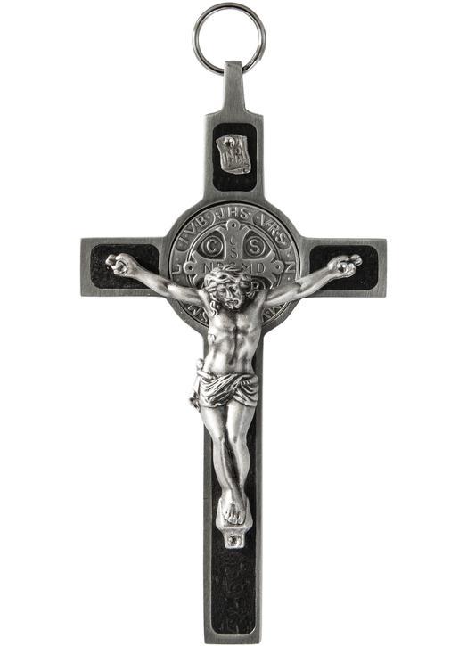 Kruisbeeld van St Benedictus (recto)