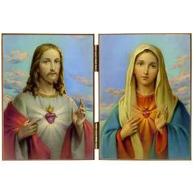 Los Sagrados Corazones de Jesús y de María
