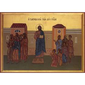 icon of the parable of the Two Sons