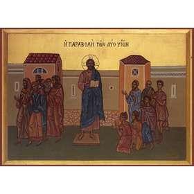 icono de la parábola de los Dos Hijos