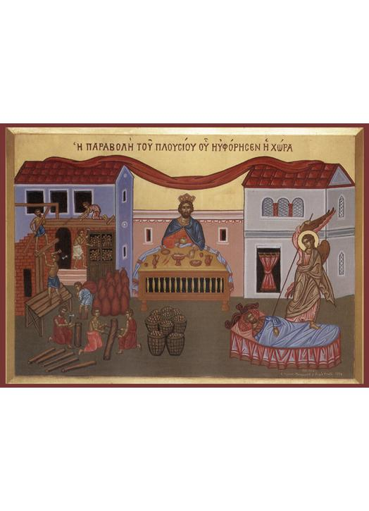 Icon of The Parable of the Rich Fool