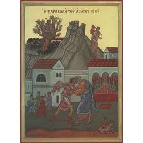 Icon of The Parable of the Prodigal Son