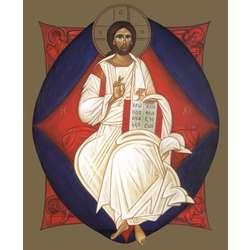 Icône du Christ en Majesté