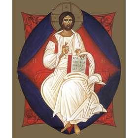 Ikoon van Christus in Majesteit