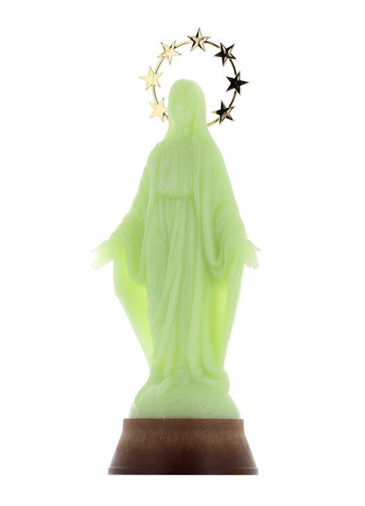Virgen Milagrosa fluorescente, 30 cm