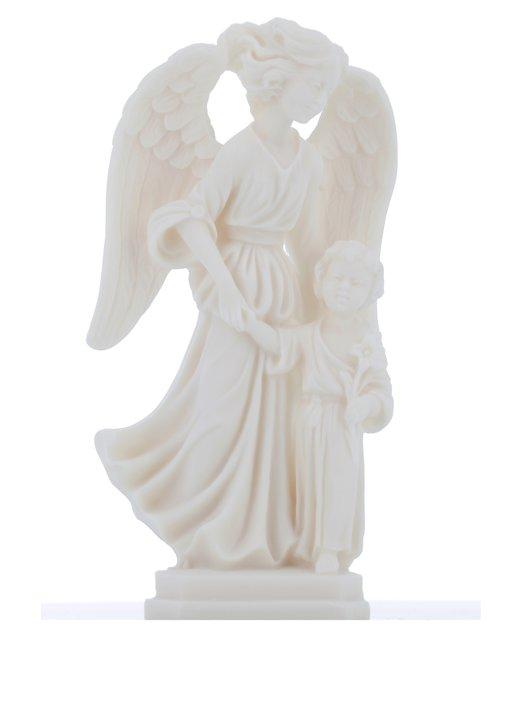 statue of the Guardian angel, 14,5 cm (Vue de face)