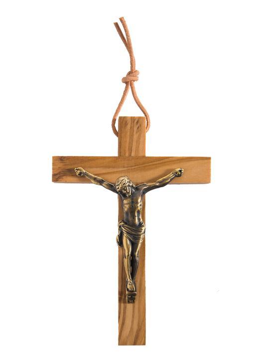 Crucifix gietijzer - 10 cm