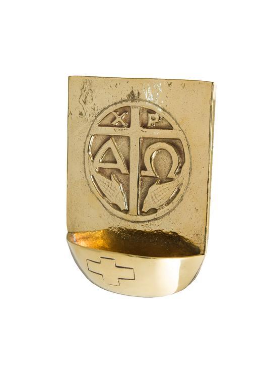 Stoup en bronce con crisma - 55 ml (Vue de face)