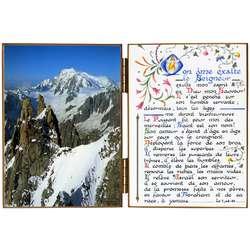 El Mont Blanc visto desde la Aguja Verde
