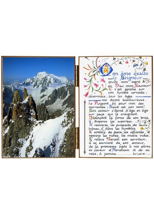 Le Mont Blanc vu du col de l'Aiguille Verte