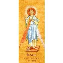 Icône de Jésus de l'année de la Miséricorde (G)