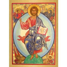 Icoon van Christus in glorie