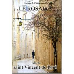 Livre Le Rosaire, Textes de saint Vincent de Paul