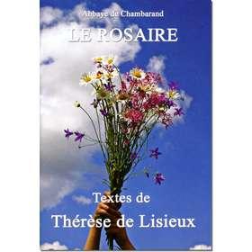 Livre Le Rosaire, Textes de sainte Thérèse de l'Enfant-Jésus (grand format)