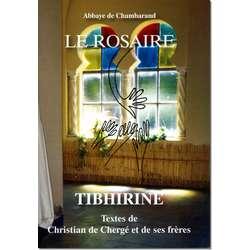 Livre Le Rosaire, Textes des moines de Tibhirine (grand format)