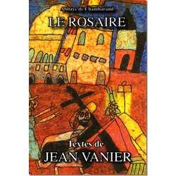 Livre Le Rosaire, Textes de Jean Vanier (grand format)