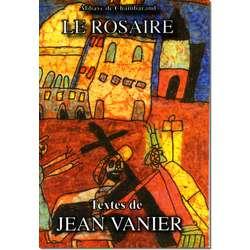 Livre Le Rosaire, Textes de Jean Vanier