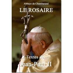 Livre Le Rosaire, Textes de saint Jean-Paul II (grand format)