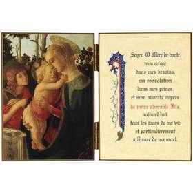 Virgin in the Child and Saint John the Baptist