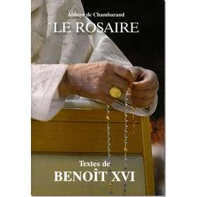 Livre Le Rosaire, Textes de Benoît XVI (grand format)