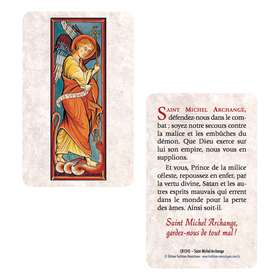Card-prayer Saint Michael