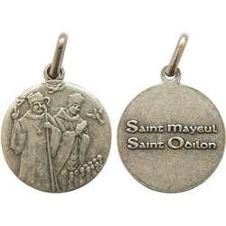 Medalla de San Maïeul y San Odilon, 18 mm