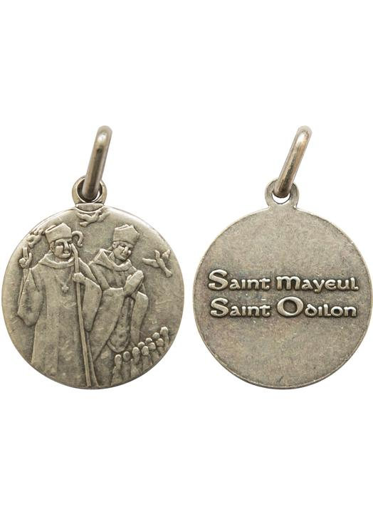 Medal of Saint Maïeul and Saint Odilon, 18 mm