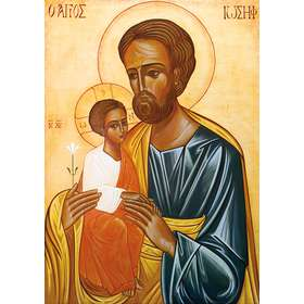 Icon of Saint Joseph and The Child Jesus