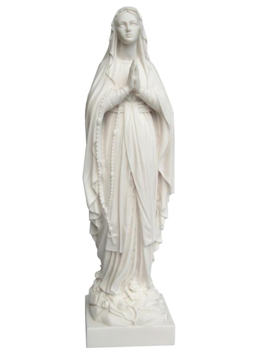 Statue of Our Lady of Lourdes, 42 cm (Vue de face)