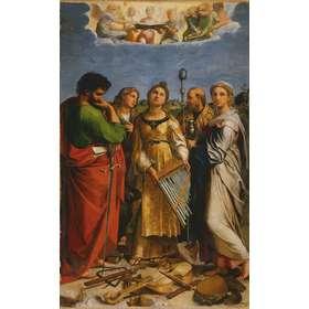 Icon of the ecstasy of Saint Cecilia