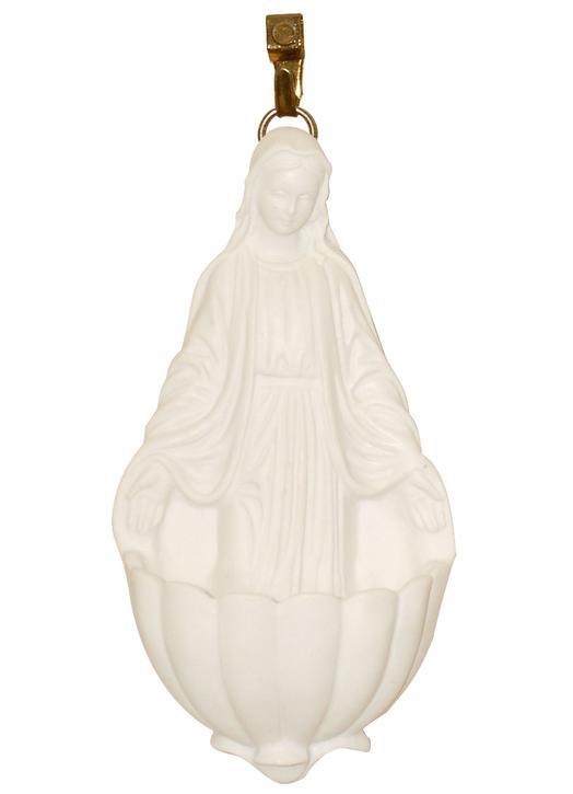 Cuenca para agua bendita con Virgen Milagrosa - 10 ml