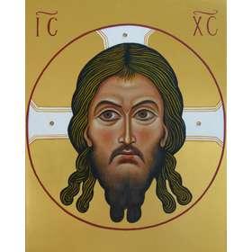 Icono de cara de cristo
