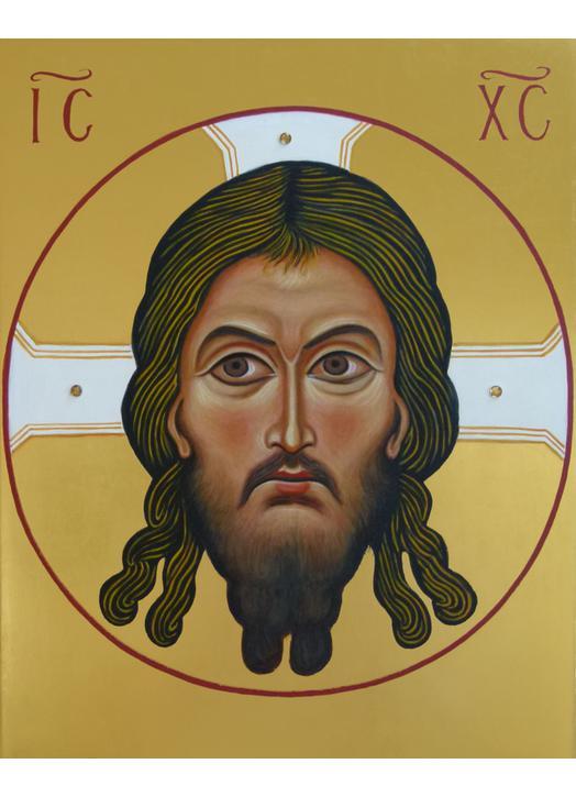 Icône du visage du Christ Jésus