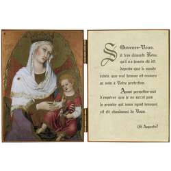 La Virgen María con el Niño Jesús