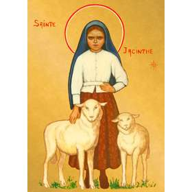 Icon of Saint Jacintha of Fatima