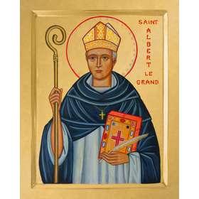 Icono de San Alberto Magno