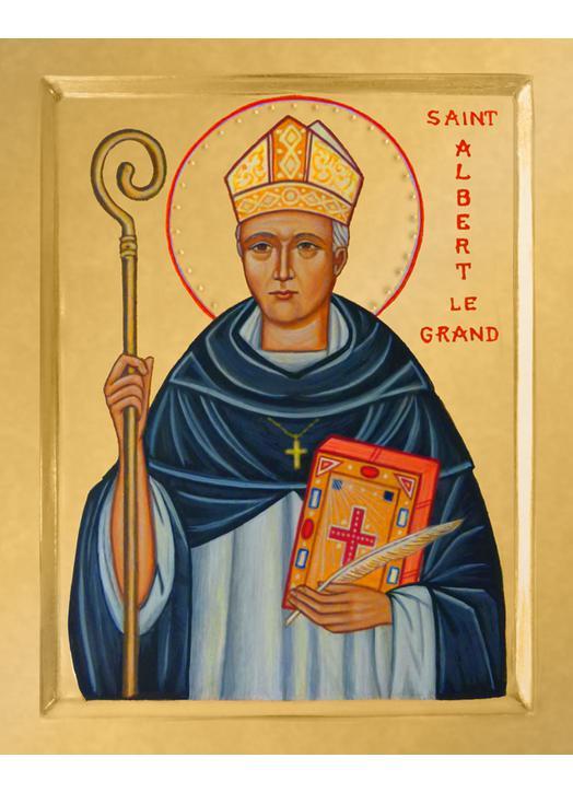 Icon of Saint Albert the Great