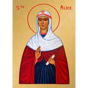 Icon of Saint Alice