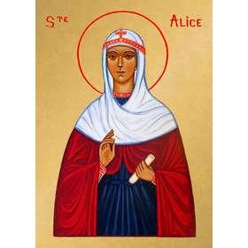 Icône de sainte Alice