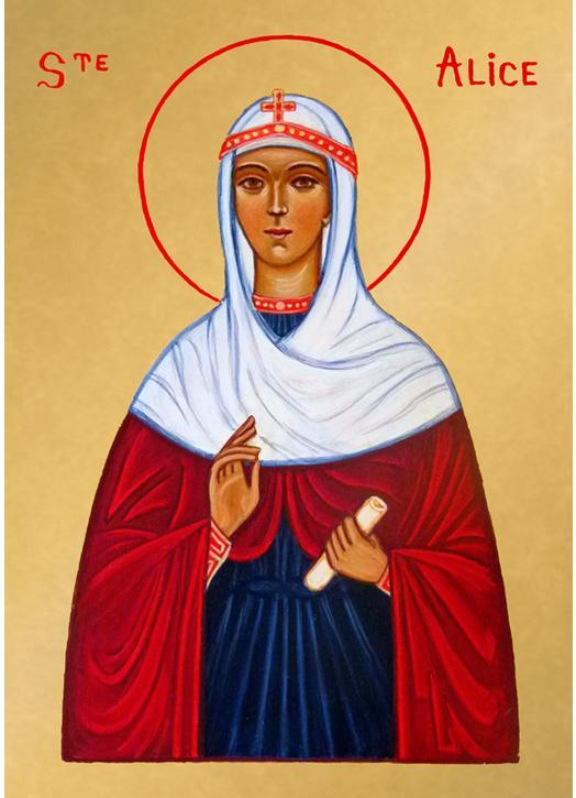 Icono de Santa Alicia