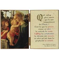 La Virgen María con el Niño Jesús y S. Juan Bautista