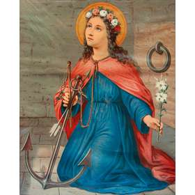 Icône de sainte Philomène