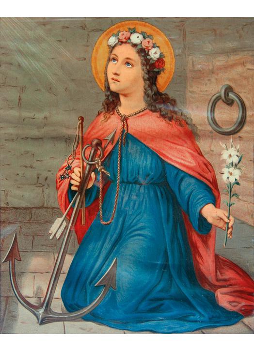 Icon of Saint Philomena