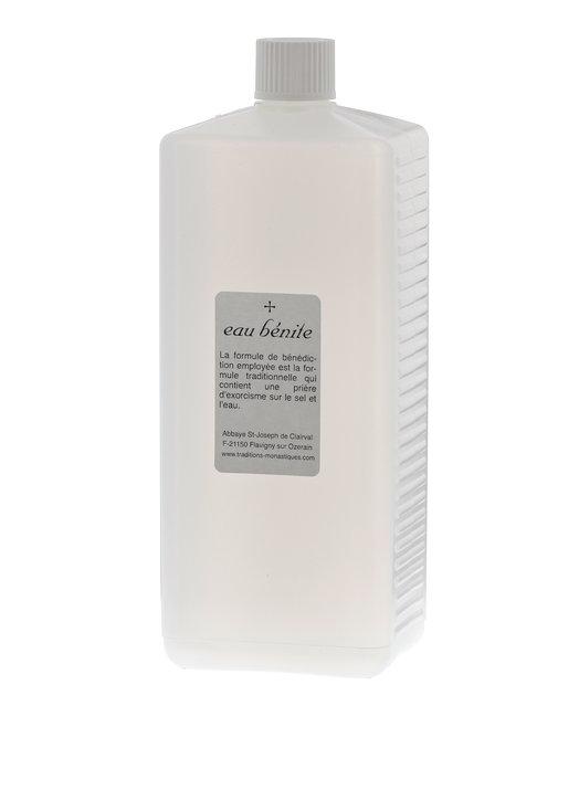 Botella de plástico de 1 litro para agua bendita