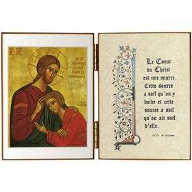 Cristo y San Juan
