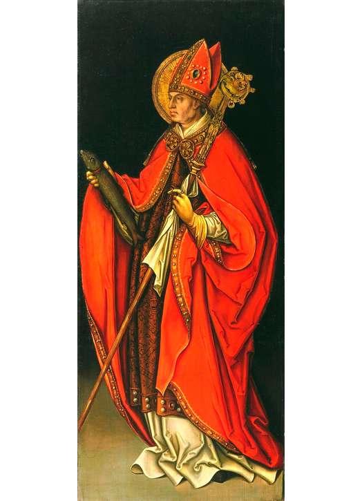 Icoon van heilige Ulrich