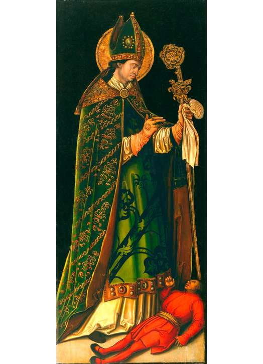 Icône de saint Valentin