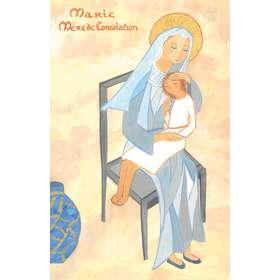 Icoon van Maria, moeder van troost